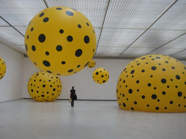 Kusama from Japan art work
