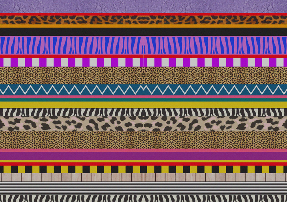 Aztec native navajo geometric motif african vibrant pattern background Facebook hipster tumblr society6 art design repeat artist freelance fabric textile fashion print trent SS14 abstract kaleidoscope 12 leopard animal hipster