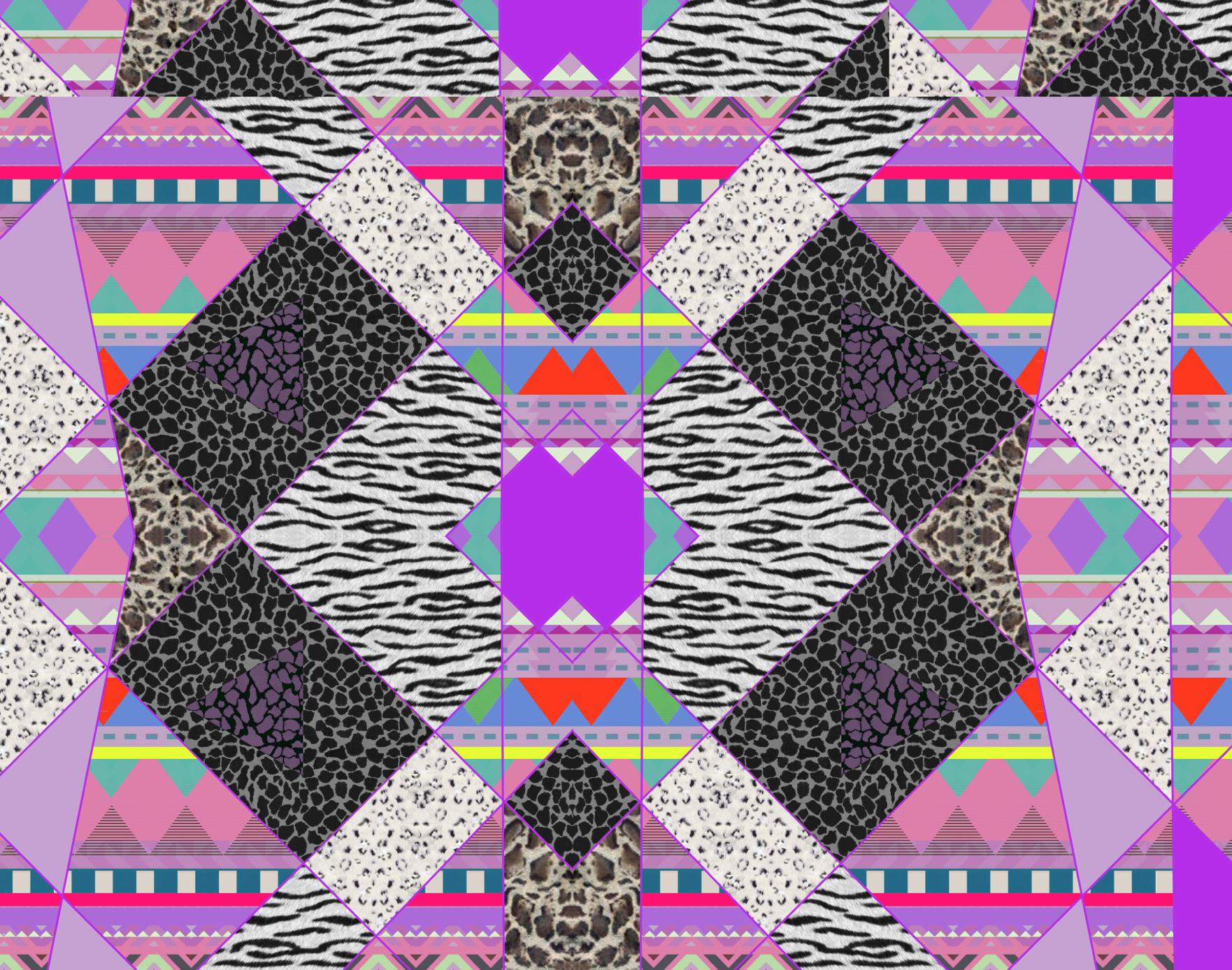 Aztec native navajo geometric motif african vibrant pattern ...
