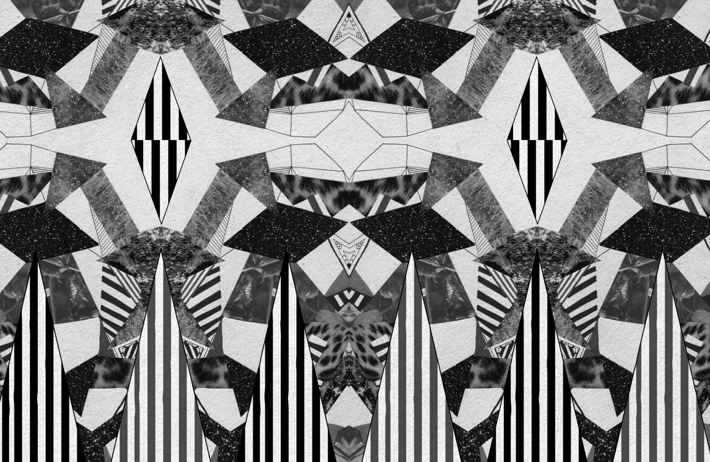 Aztec native navajo geometric motif african vibrant Black and white themes for tumblr
