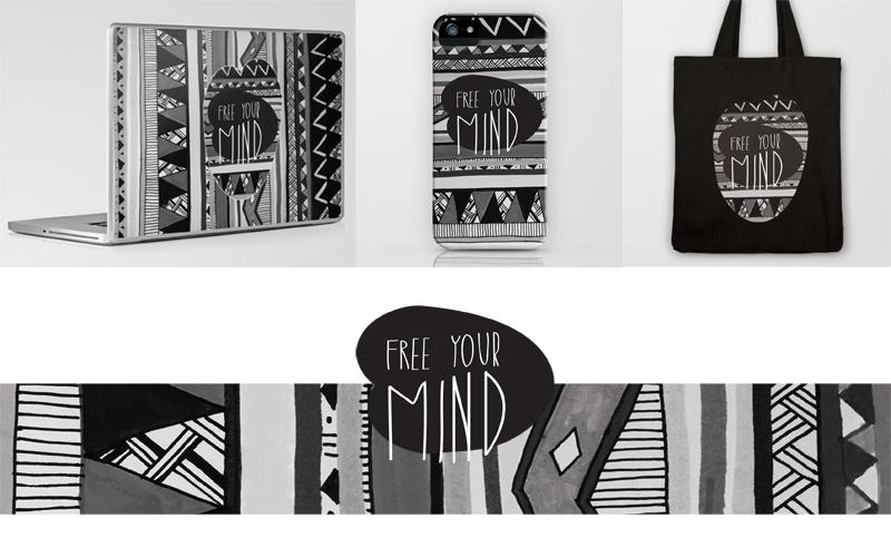 Free Your Mind New Print Vasare Nar Art Fashion Design Blog