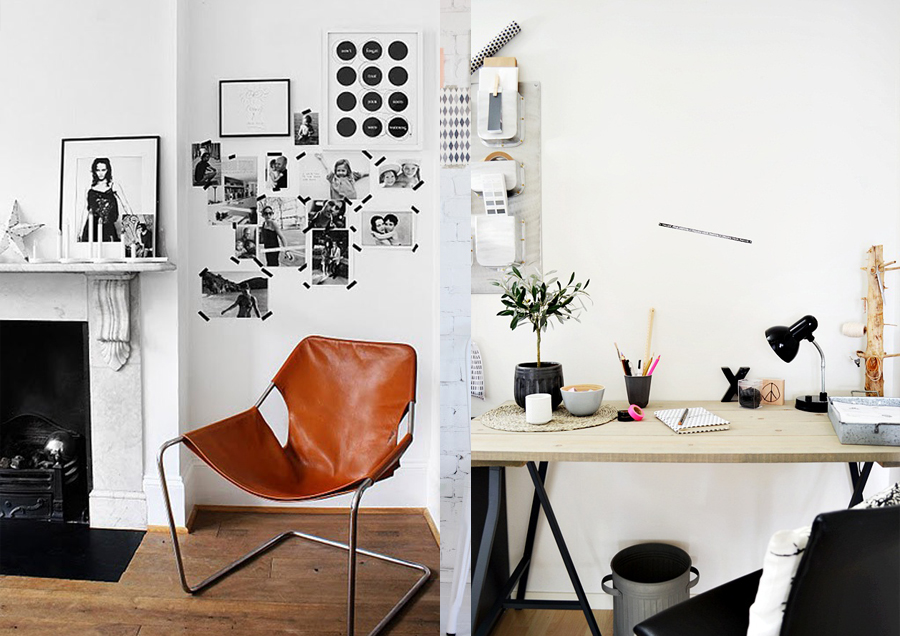 Home studio workspace Decor ideas Vasare Nar Art