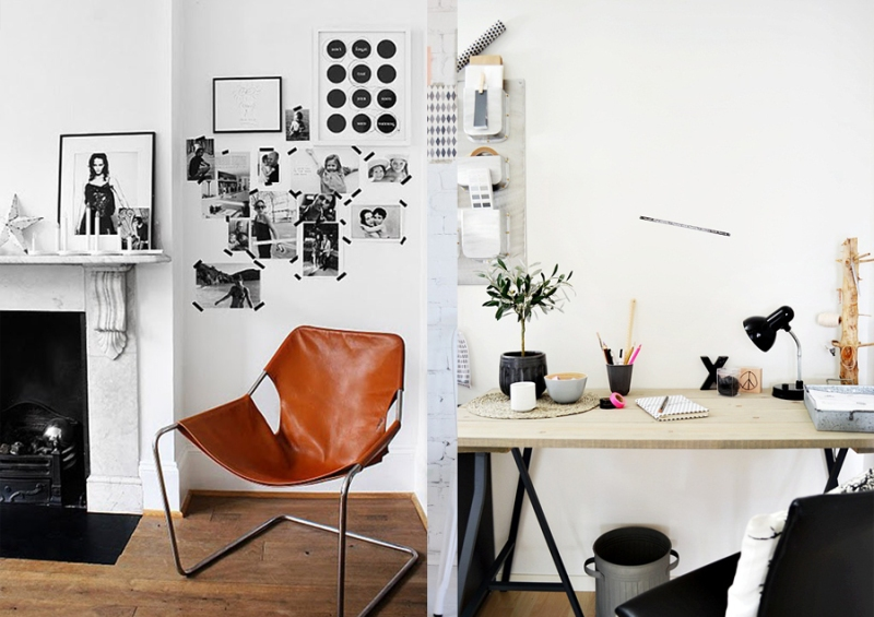 Home studio workspace decor ideas vasare nar art fashion design blog Diy home decor blog uk