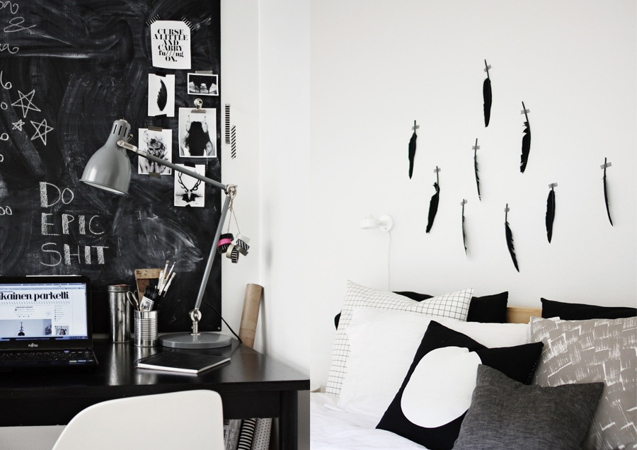 home studio workspace decor ideas vasare nar art fashion design blog. Black Bedroom Furniture Sets. Home Design Ideas