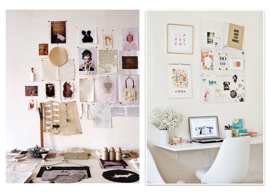 Home studio workspace decor ideas vasare nar art fashion design blog Diy ideas for home design