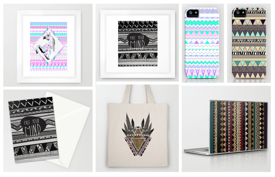 Offer 5 off all products on my society6 vasare nar art for Urban home decor