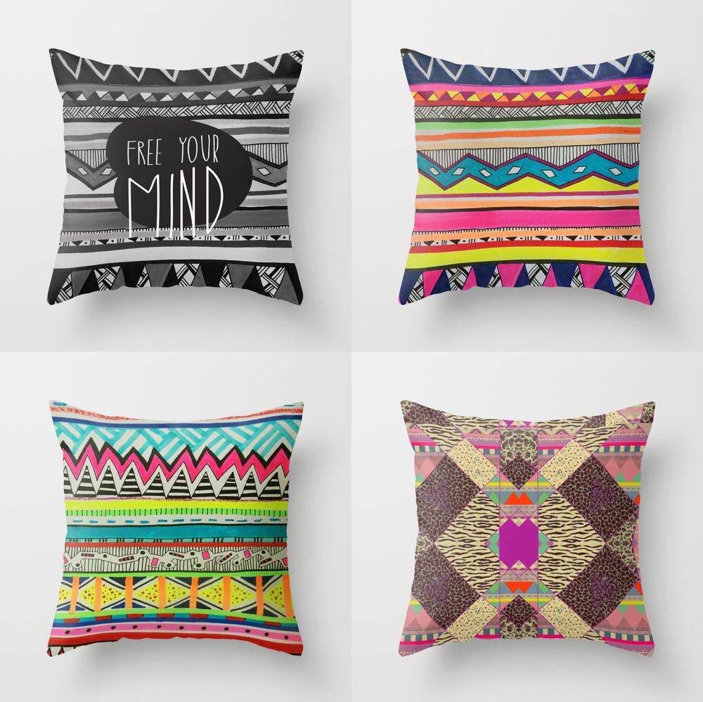 Shop pillows vasare nar art fashion design blog for Diy room decor ideas hipster