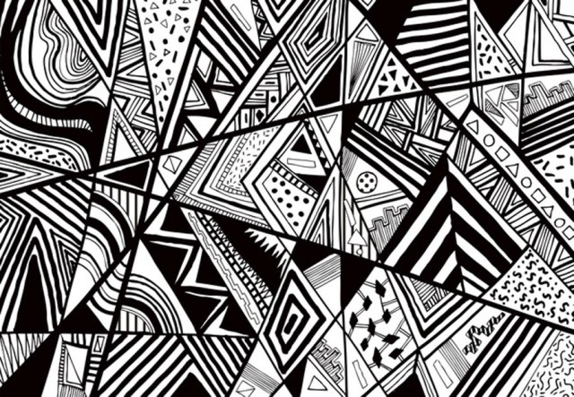Line Drawing Designs : Wednesday inspirations black and white vasare nar art