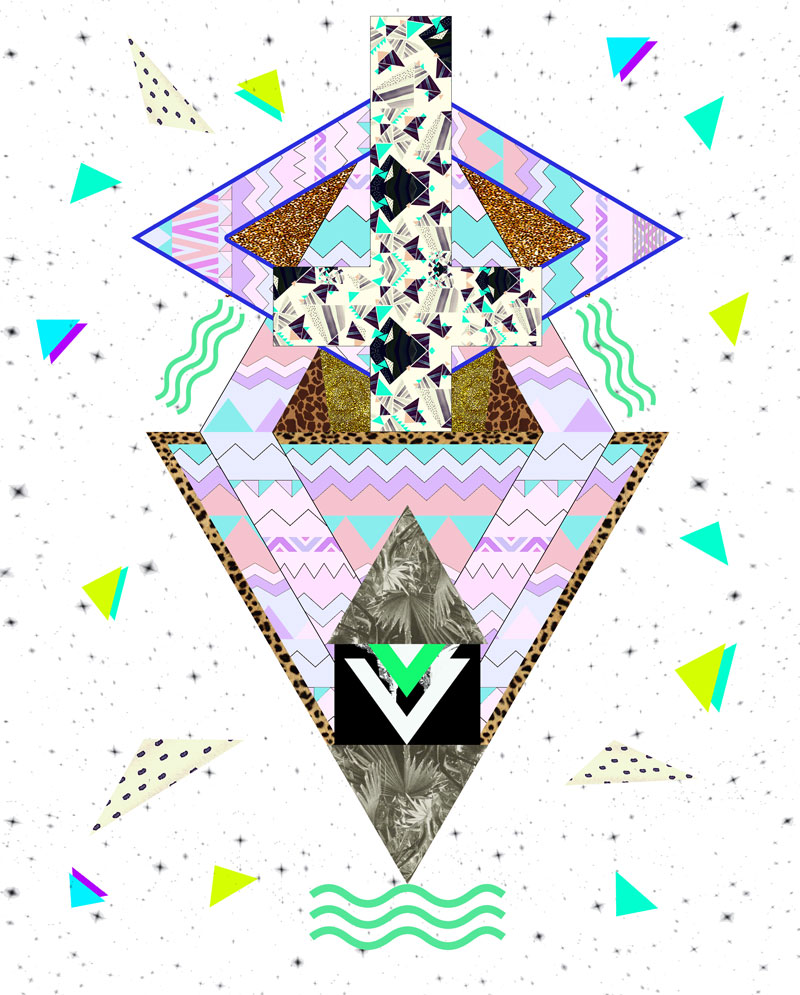 collage-art-design-experimental-trend-2015-vasare-nar-pattern-fashion-designer-clothing-appareal-native-tribal-triangles-kitch