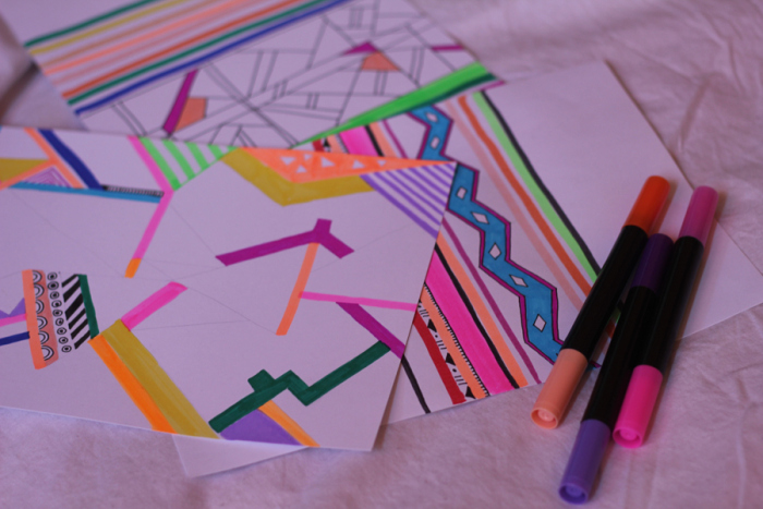 drawing-aztec-tribal-native-geometric-art-navajo-tumblr-neon-90s-vasare