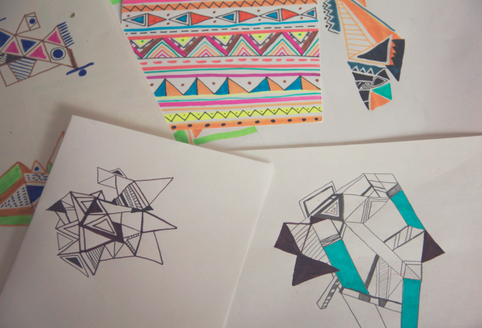 sketches-art-aztec-tribal-native-vasare-nar-geometric-drawings-neon-shapes-triangle