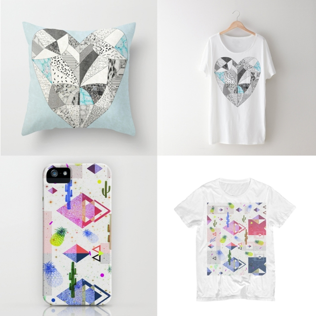 las day free shipping society6 art design fashion clothing designer textile hipster iphone case iphone 5 pillow dorm home decor heart cool cactus pineaple summer