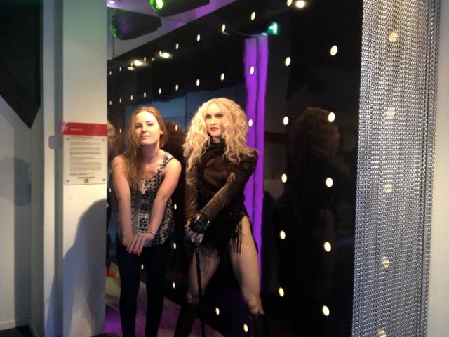 madona singer madona vasare wax museum amsterdam