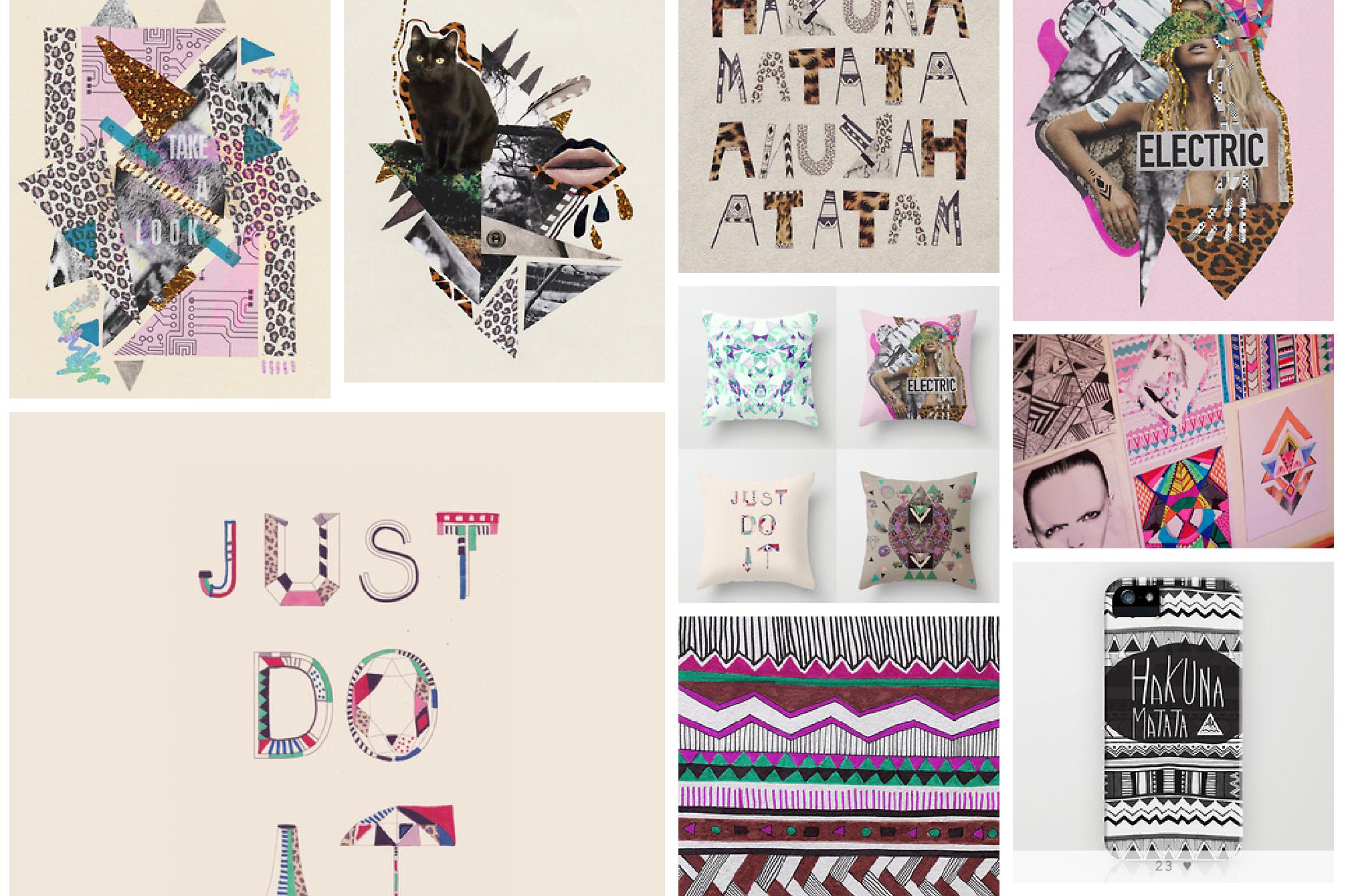 My Tumblr Art Design Illustrations Vasare Nar Art Fashion Design Blog
