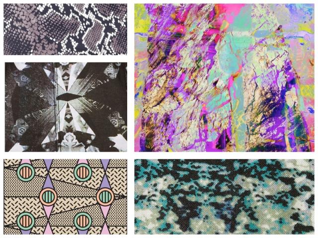 fashion trend inspiration forecast trend 2015 2016 2014 summer spring print textile design designer zig zag colour  vogue elle modern repeats motif stylish moodboard  design  cool