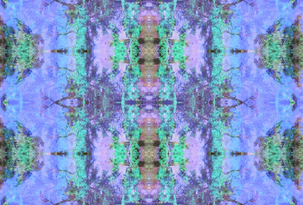 kaleidoscope twxtile pattern art design vasarenar summer spring 2015 2014 trend style designer illustrator cool blue