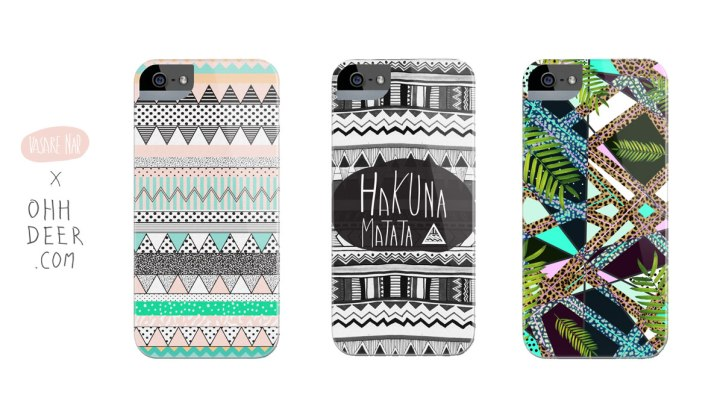 1vasare-nar-ohh-deer-iphone-case-print-shop-pattern-illustration-cool-tropical-designer-topshop-urban-outfitters-tribal-hakuna-matata-chevron-pastel-dancie-vasare-nar-samsungalaxy