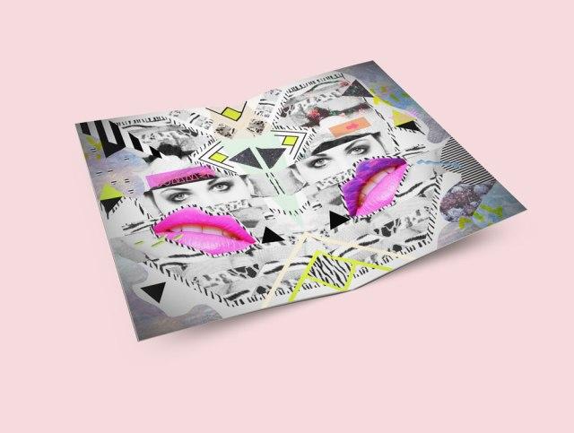SUMMERTIME-magazine-layout-spread-collage-aztec-navajo-mixed-media-layout-vasare-nar-designer-graphic-zebra--typography-cool-inspiration-freelance-tutorial-