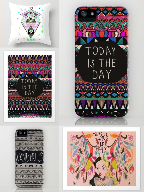 society6 shop art alice in wonderland iphone case art print today is the day native hipster society6 geometric iphone case wanderlust cool vasarenar dorm decor textile