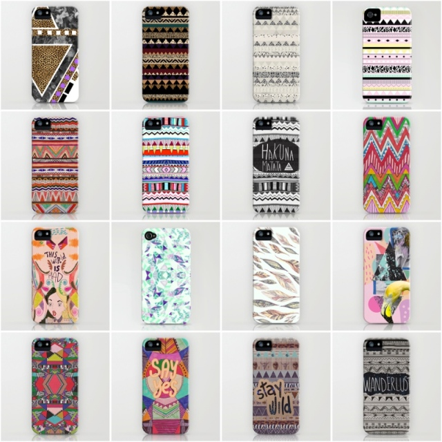 aztec tribal native navajo wanderlust motif leopard kitch bold colourful 80s zebra pattern Iphone5s iphone 4s Iphone5c feathers urban outfitters society6 vasare nar on trend mixed media pink mint rad pastel new free shipping buy alice in wonderland w