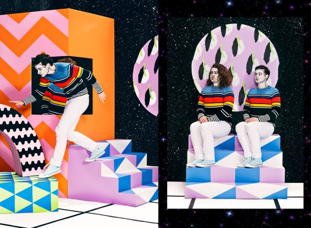 aAdi Goodrich Set design art direction illustrator inspiration cool photography fashion art layout colourful galaxy