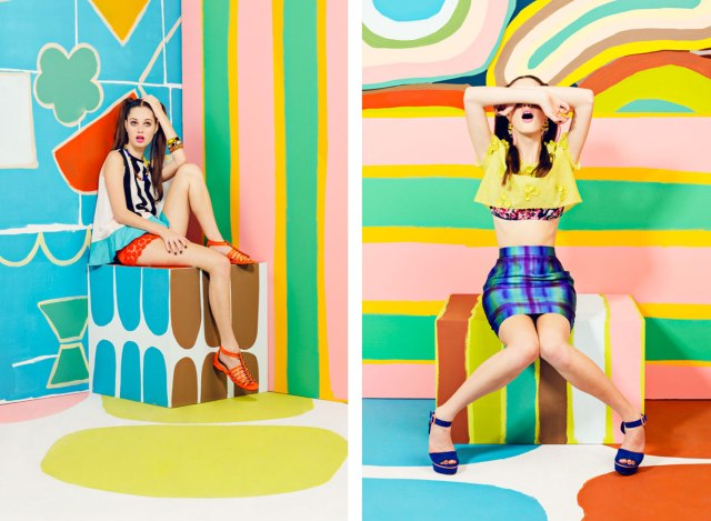 aAdi Goodrich Set design art direction illustrator inspiration cool photography fashion art layout colourful