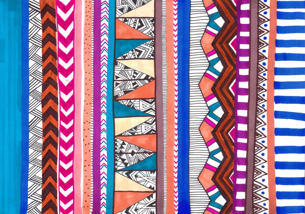 pattern-textile-aztec-tribal-native-navajo-blue-topshop-urban-outfitters-inspiration-tumblr-abstract-style-trend-summer-2014-2015-2016-vasare-nar-freelance-portfolio-