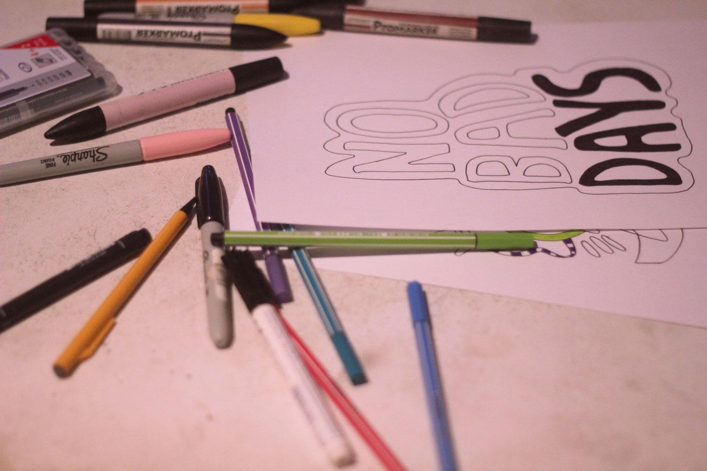 Photography Art Typography Design Sharpies Blog Design