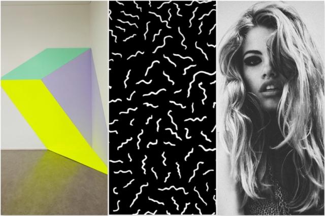 art design inspiration pattern geometric pinterest fashion style girl hail cool neon 90s 80s