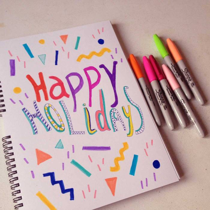 happy-holidays-christmas-new-year-celebrations-typography-illustration-vasare-nar-drawing-sharpies-markers-