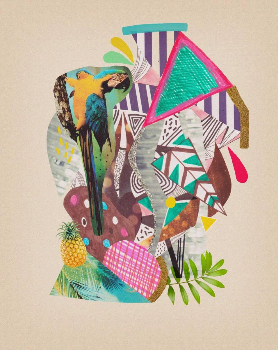 Tropicana Macaw Vasare Nar Art Fashion Design Blog