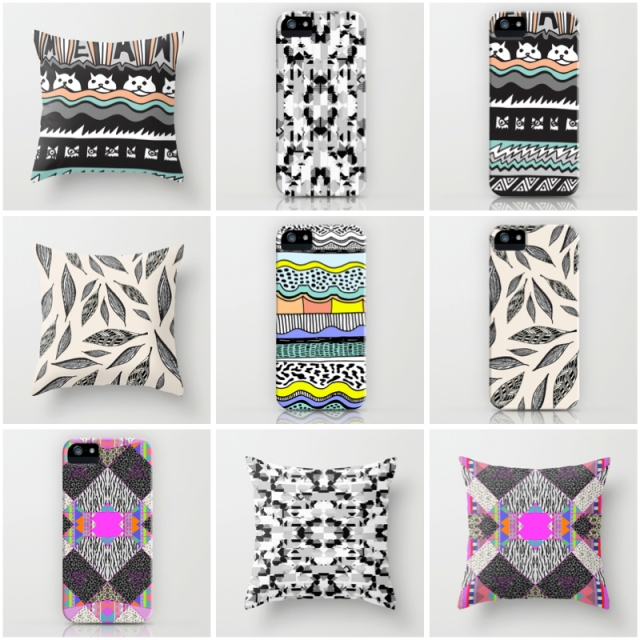 aztec tribal native navajo print textile pillow dorm home decor iphone case society6 cool hipster tumblr popular cat mean feathers vasare nar 90s 80s 2015 summer print abstract POD