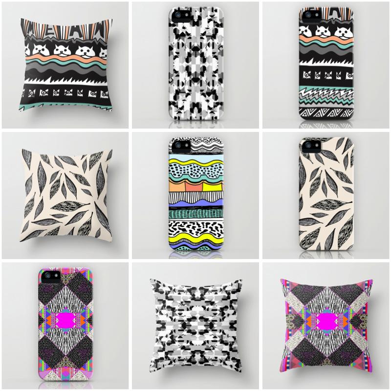 Aztec Tribal Native Navajo Print Textile Pillow Dorm Home Decor Iphone