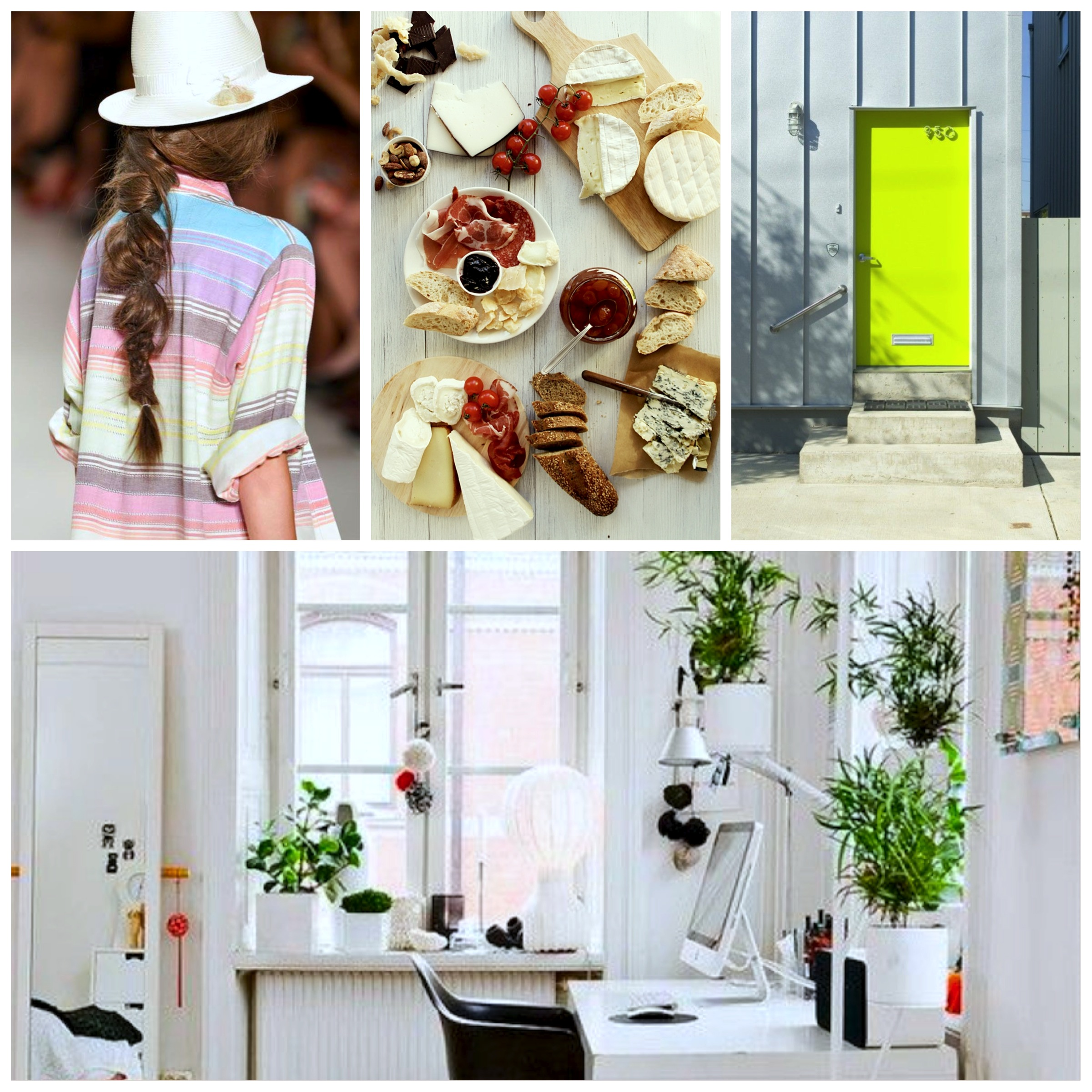 blog inspiration art design pinterest hair food workspace studio cool neon door hair fishtail