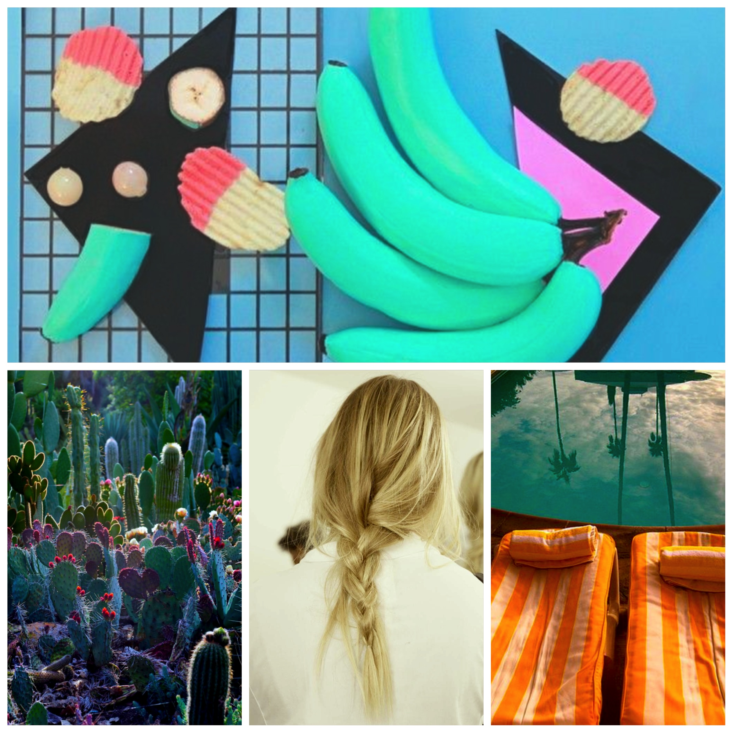 Inspiration Blog Fashion Style Lifestyle Hair Pinterest Cactus Art Design Banana Cool Vasare