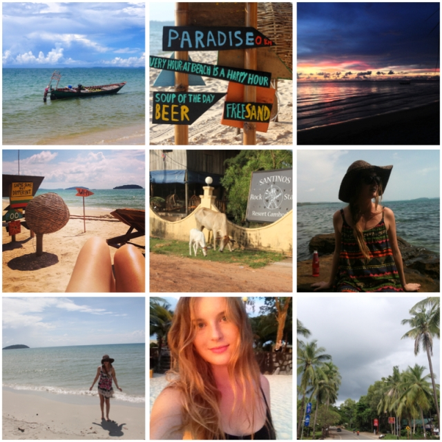 Life lately cambodia sihanoukville travelling beach summer holiday vasare nar cool beach otres beach asia