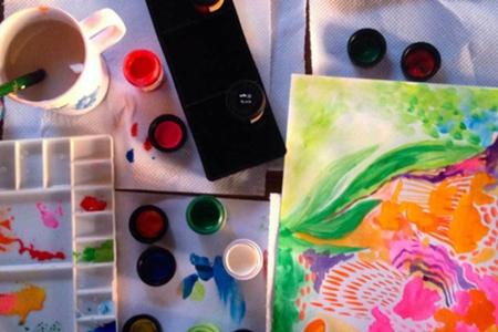 watercolour testing