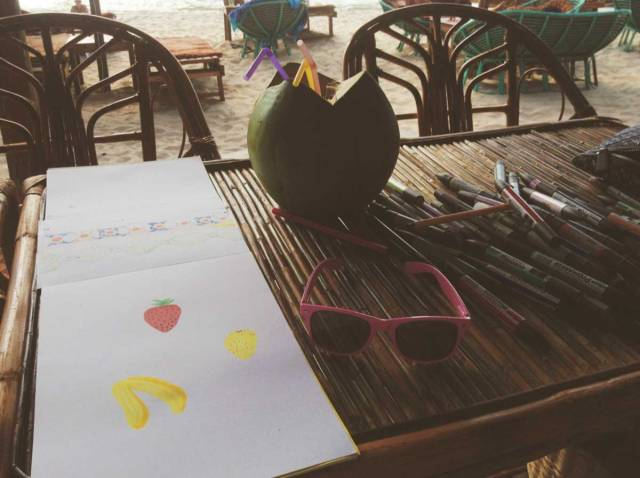 amber-beach-bar-coconut-otres-sihanoukville-beach-holiday-bar-grill-drawing-art-