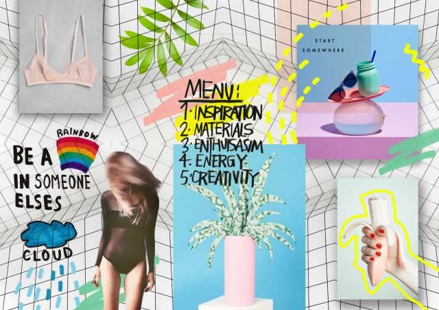 Mood Board Vasare Nar Art Fashion Design Blog