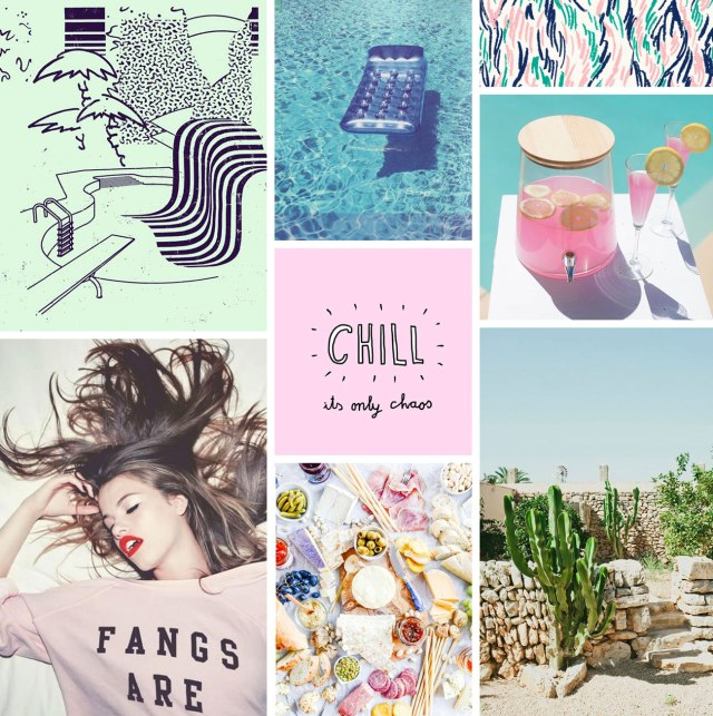 inspiration-visual-art-design-fashion-pinterest-moodboard-whats-on-my-mind-food-visuals-cool-art-design-chill pink lemonade creative styllish cactus