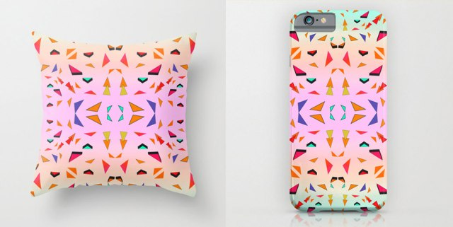 triangle-tropical-geoemtric-pattern-behance-iphone-case-pillow-home-decor-iphone-case-tumblr-society6