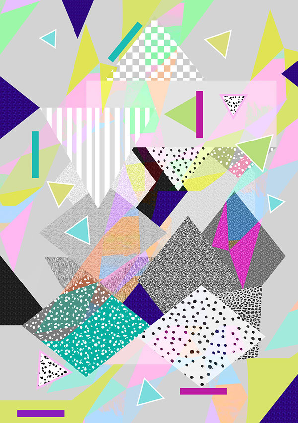 80s and 90s Inspired Prints Patterns and Graphics