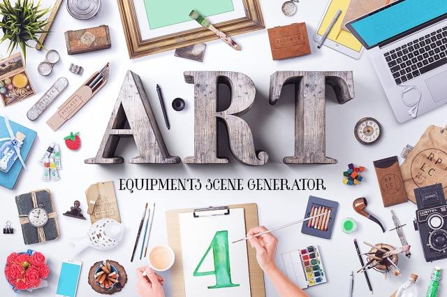 mock up scene creator designer tool art creative market photoshop macbook cool bloggers