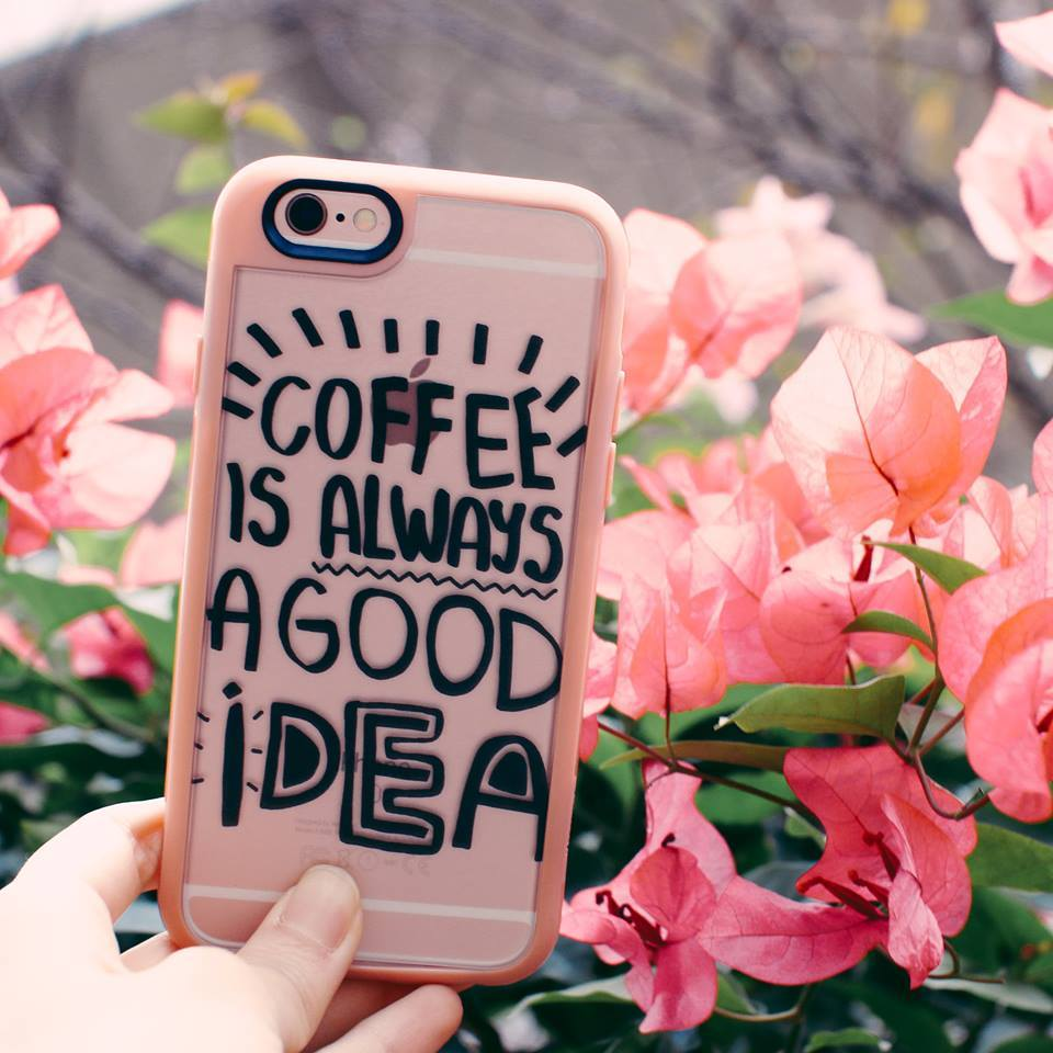 iphonce case casetify coffee is always a good idea iphone 6 cute typography quote