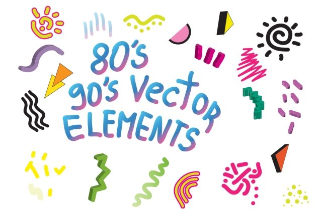 90s 80s design elements vector ai adobeillustrator creative market pattern design elements vasare nar creative colourful 3d scribble abstract blobs art pool gradient.jpg