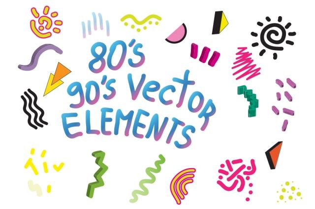 90s 80s design elements vector ai adobeillustrator creative market pattern design elements vasare nar creative colourful 3d scribble abstract blobs art pool gradient.jpg