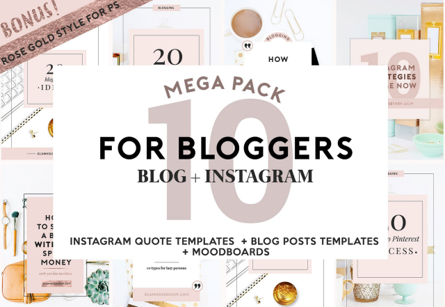 social media, rose gold, blog blogging