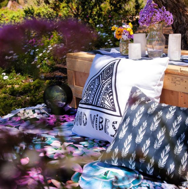 kess inhouse pillow vasare nar good vibes white home decor garden hippie cozy boho illustration feathers.jpg