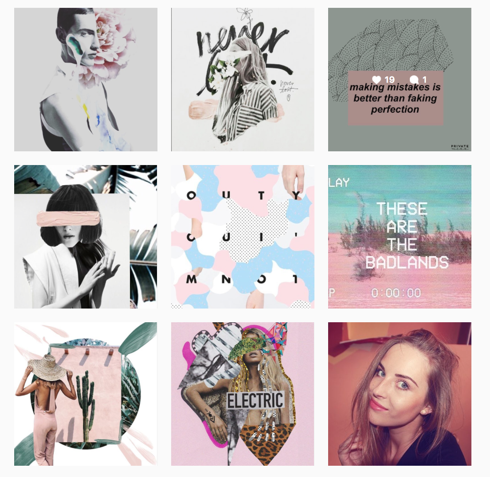 fashion, art, illustration, design, mixed media, cool, instagram, designer, freelancer, girl, pastel,